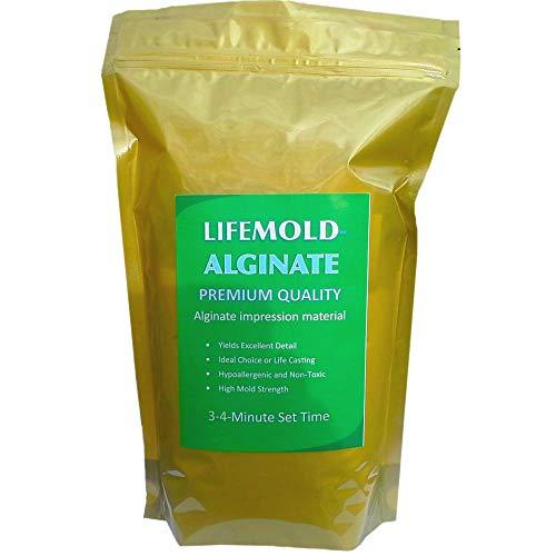 LifeMold Alginate 1-lb Skin-Safe Mold Making Material
