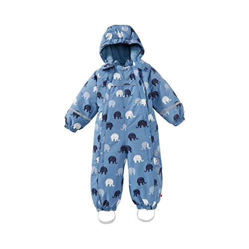 CeLaVi Combinaison d'Hiver « éléphants » Tenues de Neige bébé, 7871 Blue Fog