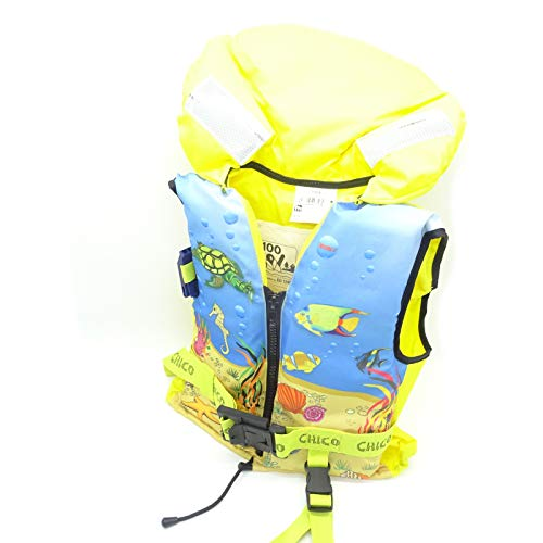 Lalizas 100N Rettungsweste Schwimmweste Kinder ISO ohnmachtssicher 3-10 | 30-40, Gewicht:30-40kg