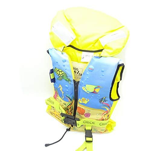 Lalizas 100N - Chaleco salvavidas para niños (ISO 3-10, 30-40, peso: 3-10 kg)