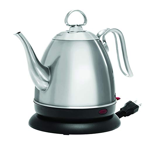 Chantal Mia eKettle Electric Water Kettle, 32 ounce, Brushed Stainless
