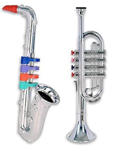 Bontempi Trompete und Saxofon Kinder Instrumente Set