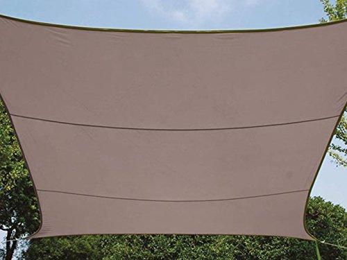 Perel GSS4430TA Rideau Rectangulaire Marron Gris 400 x 300 x 0,2 cm