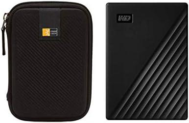 WD 1TB My Passport USB 3 2 Gen 1 Slim Portable External Hard Drive 2019 Black Compact Hard Drive product image