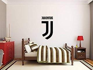 Juventus FC Autocollant Mural Art Déco Décoration De La Chambre Garçons  Équipe De Football Logo Signe
