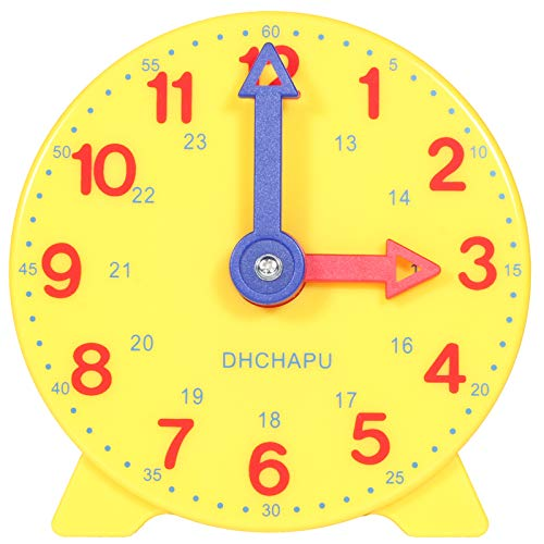 Tongsi -  Kinder Lerntafel Uhr