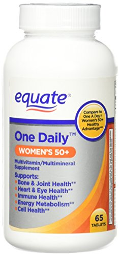 One Daily Women's 50+ Multivitamin/Multimineral Supplement 65ct By...