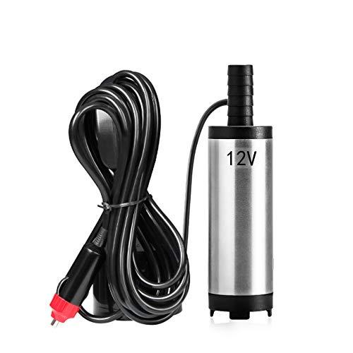 Favoto Diesel Transfer Pomp 38mm Diameter RVS Elektronische Kerosene Water Extractor voor DC12V Auto SUV