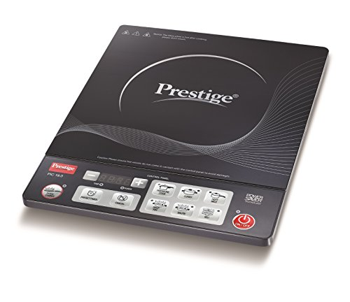 Prestige PIC 19.0 1600-Watt Induction Cooktop with Push button...