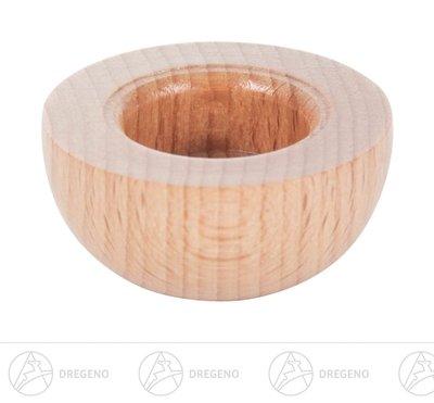 Rudolphs Schatzkiste Ersatzteile & Bastelbedarf Holztülle ohne Messingeinsatz für Kerzen d=17mm Breite x Höhe x Tiefe 3,5 cmx1,6 cmx3,5 cm NEU Erzgebirge Kerzenhalter Teelichthalter