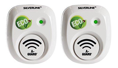 Silverline Mr 30 x 2 für Nager (Mäuse, Mäuse) 2 Geräte: 2 x 30 m² – Weiß