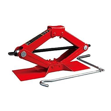 Torin Big Red Steel Scissor Jack, 1.5 Ton (3,000 lb) Capacity (T10152)