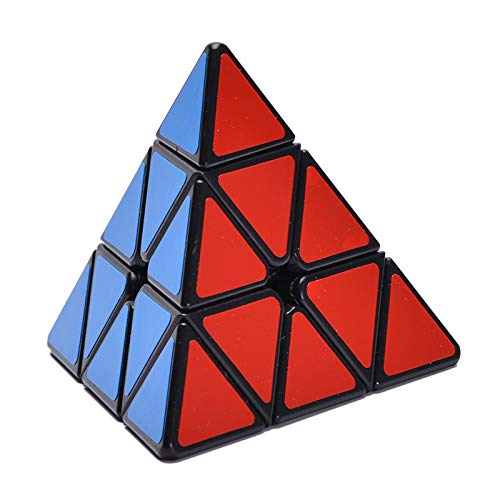 EACHHAHA Standard Triangle Pyraminx Pyramid Smooth Speed Reliable Puzzle – Professional Magic Cube For Kids and Adults