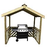 Anchorfast, Exmouth - Gazebo in legno per barbecue -