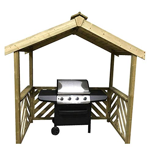 Anker Schnell Exmouth BBQ Holz Shelter –. tolles Design