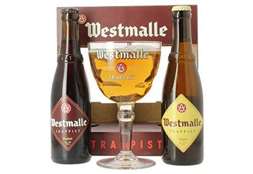 Westmalle GP 2 Flaschen plus Glas
