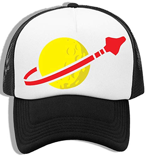 Luxogo Espacio Gorra De Béisbol Unisex Baseball Snapback Cap