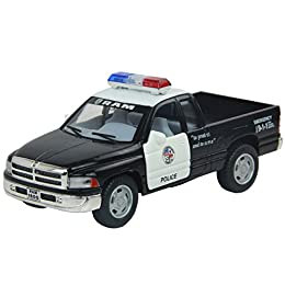 "5"" Die-cast Metal Truck with Plastic Parts 1/44 Scale Doors Openable Pull Back and Go Action Official Licensed Product Not Suitable for Children Under 8 Years Old"