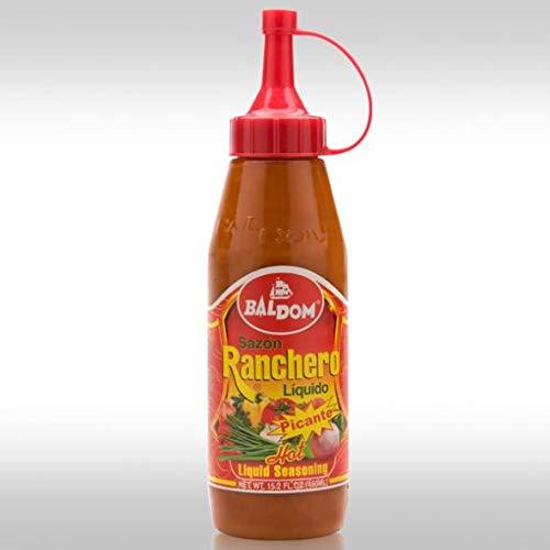Baldom Sazón Ranchero Picante, 15.5 oz - Producto Típico de la Cocina Dominicana - 440 Gramos