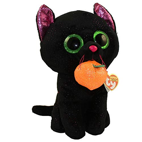Ty Ty36413 Gato Negro con Calabaza, Negro