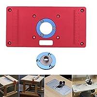 高品質ユニバーサルルータ表の挿入プレートdiy木工木材トリマーモデル彫刻機