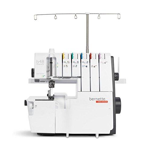 Bernette 48 Funlock Kombimaschine | günstige Overlock- / Coverstich Maschine mit grossem Leistungsumfang und überzeugender Stichqualität