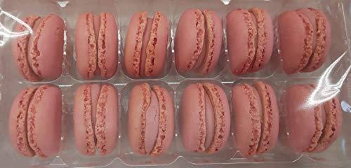 冷凍 マカロン ストロベリー 324個(12個×3P×9箱) 業務用 冷凍 他に チョコレート ピスタチオ バニラ レモン の取り扱いあります。