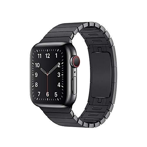 Pulseira Elos Para Apple Watch Preto Aço Tamanho 42/44mm
