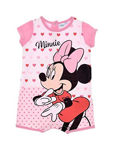 Minnie Barboteuse bébé Fille Disney Rose de 6 à 24mois - Rose, 12 Mois