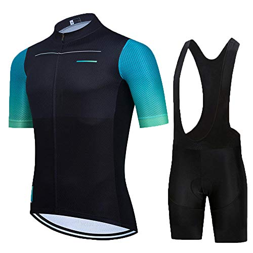 HXTSWGS Conjunto Ropa Ciclismo Hombre Verano,El Mejor Equipo de Ciclismo para Hombre, Camiseta de Manga Corta, Maillot de Ciclismo, Cubierta de Bicicleta de Carretera de verano-A15_XL