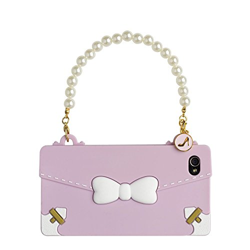 Oblige OBI42060 Ribbon Handyhülle Schale Case Cover für Smartphone Apple iPhone 4/4S - Pink