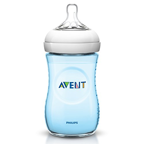 Philips Avent SCF695/17 - Biberón, tetina suave y flexible, anticólicos, PP 0% BPA, 260 ml, color azul