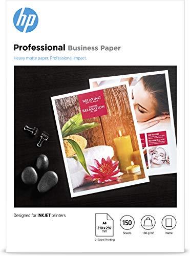 HP InkJet und PageWide Professional Business Papier (A4, 150 Blatt, matt, 180 g/m²)