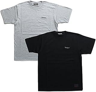 【Z18PL01-02】 ゼファレン Zephyren Tシャツ 半袖 かっこいい ペイズリー バンダナ 切替 プリント アメカジ 大きいサイズ 正規品 グレー 黒