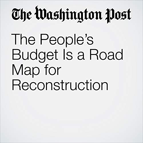 The People's Budget Is a Road Map for Reconstruction copertina