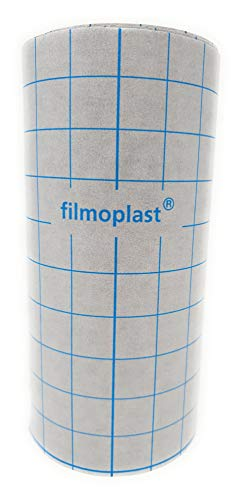 Filmoplast Gunold 20cm x 25 Meter Rolle Selbstklebend Stickvlies Vlies (Schwarz)