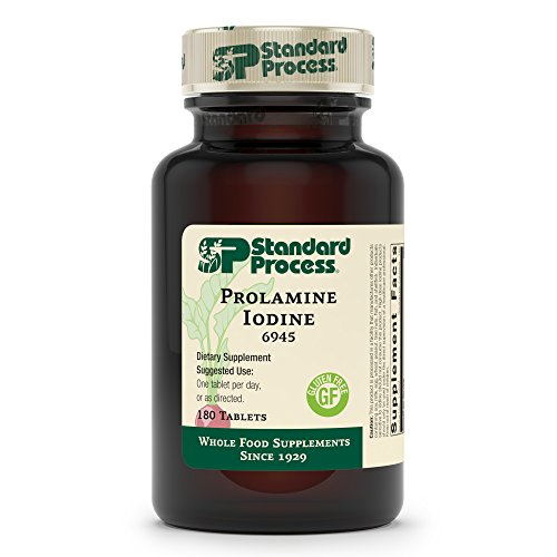 Standard Process Prolamine Iodine - Thyroid Support with Prolamine Iodine,...