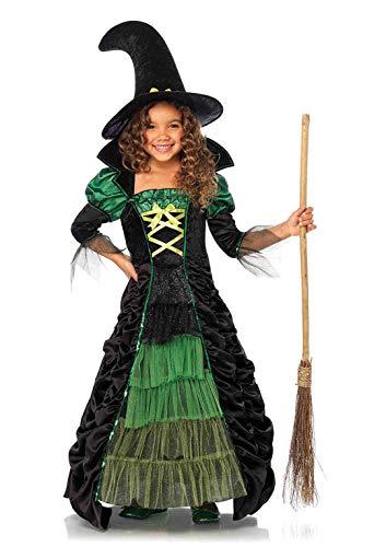Leg Avenue-Storybook Costume sorcière M (Noir/Vert)