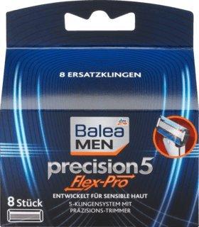 Balea MEN Rasierklingen precision5 Flex-Pro, 1 x 8 St