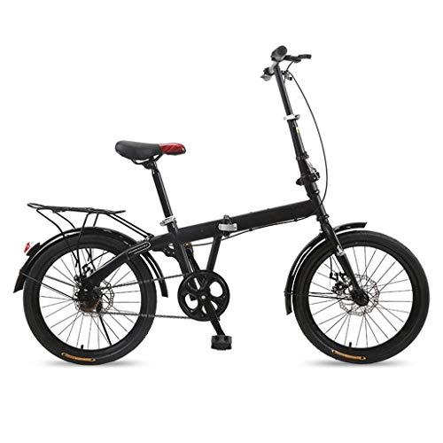 6 Velocidades Bicicleta MTB Plegable Single Speed 20inch