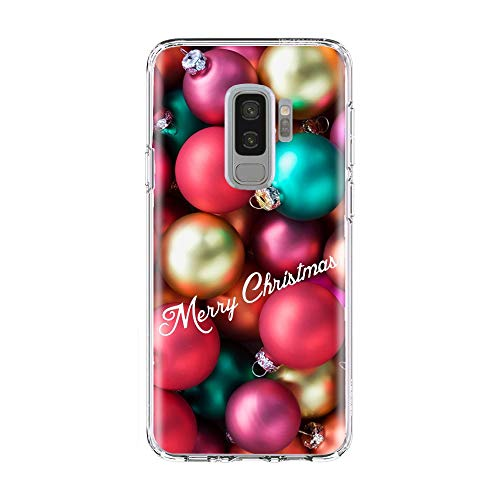 VHR Fundas Winter Snow Scene Christmas Elk Rabbit Cat Butterfly Funda para Teléfono para Samsung S6 S7 Edge A6 S8 S9 Plus A7 J5 J7 A5 2017 Estuche TPU, TPU D2140, para A6 Plus 2018