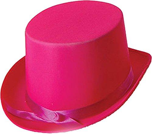 Bristol Novelty Erwachsene Unisex Junggesellinnenabschied Kostüm Party Club Kleidung Zubehör Promi Zylinder - Rosa, Einheitsgröße, Einheitsgröße