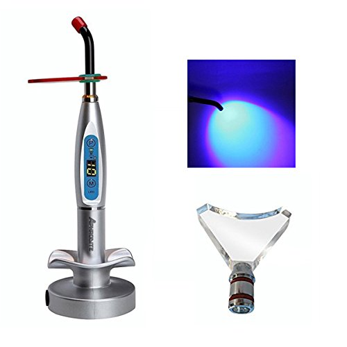 Aphrodite Wireless Cordless LED Curing Light Cure Lamp New 1500mw with Whitening Tip Silver US Stock