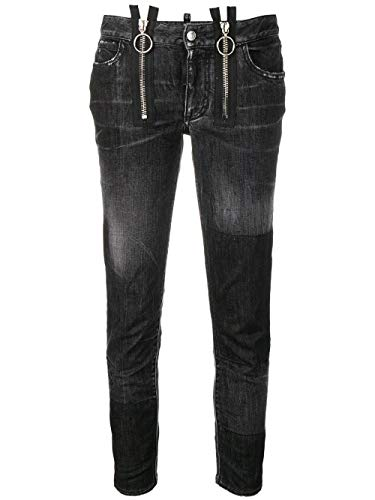 Luxury Fashion | Dsquared2 Dames S75LB0094S30400900 Zwart Katoen Jeans | Seizoen Outlet