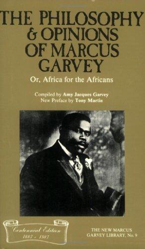 Philosophy ndi Maganizo a Marcus Garvey, kapena, Africa kwa anthu aku Africa