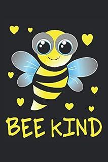 Biene: Notizbuch A5 Kariert - zum planen, organisieren und notieren