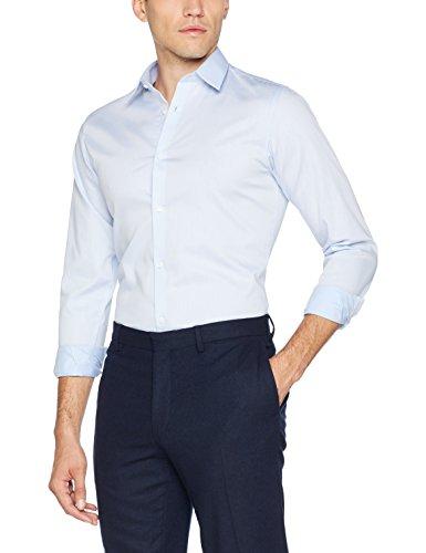 JACK & JONES PREMIUM Jprnon Iron Shirt L/s Noos Camisa, Azul (Cashmere