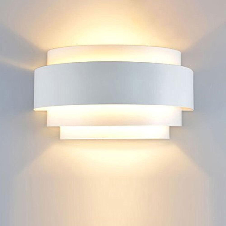 M-zmds Moderne LED Wandleuchte auf und ab Wandleuchten Metall Wandleuchte mit E27 1-Licht Wandleuchte für Wohnzimmer Leuchten Schlafzimmer Lampen LED energiesparende Nachtlicht
