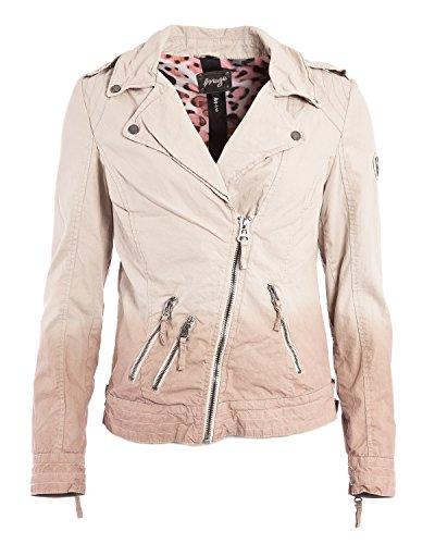 Maze Damen Jacke Im Farbverlauf Beige-Rosa Barisal L Taupe