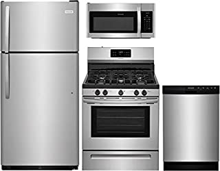 stove refrigerator and dishwasher combo